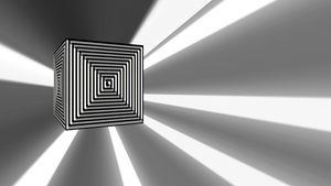hyper cube by Wretched--Stare