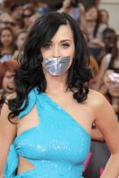Katy Perry tape gagged by ikell