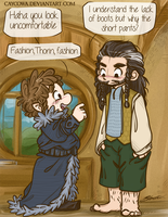 Hobbit - Thorin the Exchange Hobbit by caycowa