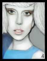 Lady Gaga - Marry the night Portrait by Vincent2215