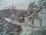 A DAY IN THE BEACH CAUSEWAY X OPTIMUS AND RATCHET by SALVAGEPRIME8686