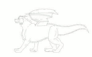 Run Cycle  WIP 2 ~Animation~ by TheDragonInTheCenter