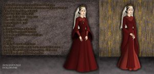 Matilda of Boulogne, Queen of England 1135-1141/52 by TFfan234