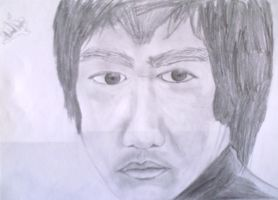 Bruce Lee by MIKEYV13