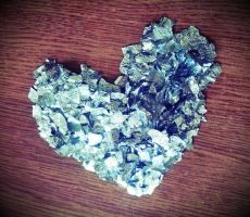 Heart- aluminium foil by OldCook