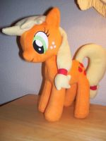 Applejack Plush by EquestriaPaintings