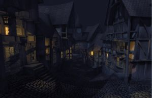 Game Environment WIP 09 by Thomas-Baker