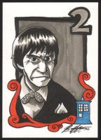 Doctor Who, Patrick Troughton by Bill-Ellis