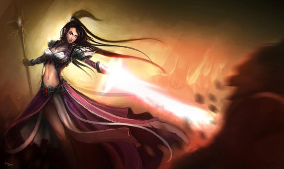 IGN's Diablo III Fan Art Contest - Runner's Up by conniebees