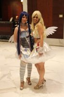Panty and Stocking by Goldendracox
