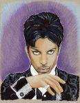 Prince tribute colour sketch by ARTIEFISHEL79