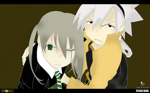 soul and maka by 1happy2gurl3
