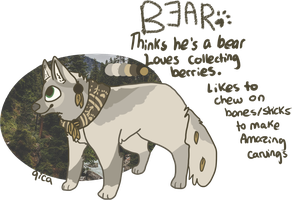 Bear OPEN ADOPT by qica