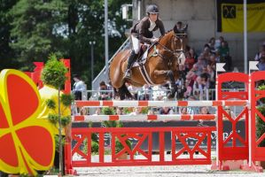 3DE Show Jumping Phase Stock 15 by LuDa-Stock