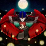 [Request] Optimus Prime -Refill- by SolarGirlMina