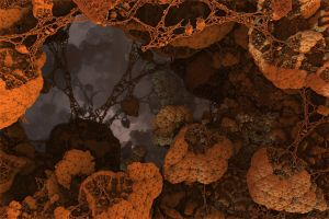 The Caves of Mars by eclecticeric