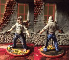 Zombicide: Josh the Thug by JordanGreywolf