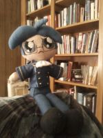 James Plush in the Library by KittyCowLexa