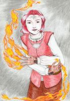 NWN2 - the girl who played with fire by Star-Miya