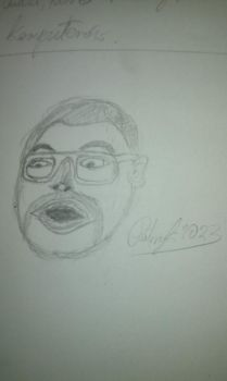 just some poorly drawn head of somebody by Patryk1023