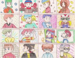 Cartoon Boys 2nd Part by ieshika