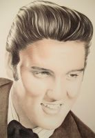 Elvis Presley by LianneC