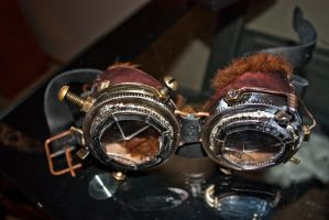 First steampunk goggles 5 by DreamingOfAutumn