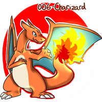 006- Charizard by Seiishin