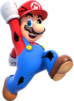 Withered Mario by SuperMario2200