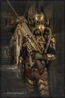 Steampunk Armor by steamworker