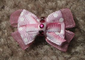 Pink Tiny Bow by liz-stock