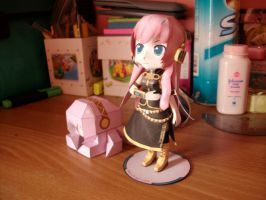 Luka and Tako Luka Papermodels:Special Shots 3 by MarcGo26