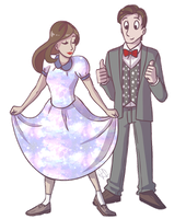 Timey wimey and twirly wirly by ColacatintheHat