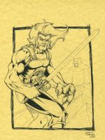 Lion-O by seanforney
