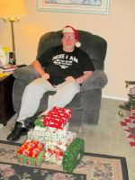 Me and my presents 2014 by BigMac1212