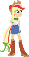 Rainbowfied Applejack by shaynelleLPS