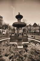 Quiet Fountains by daliscar