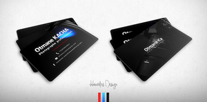 Otmane Ka Photography Business Card by HAZARDOS