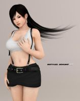 Kokoro in Tifa Re-born Render 2.0 by bstylez