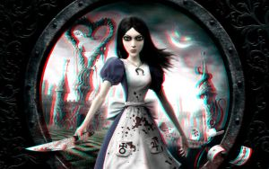 Alice: Madness Returns 3-D conversion by MVRamsey