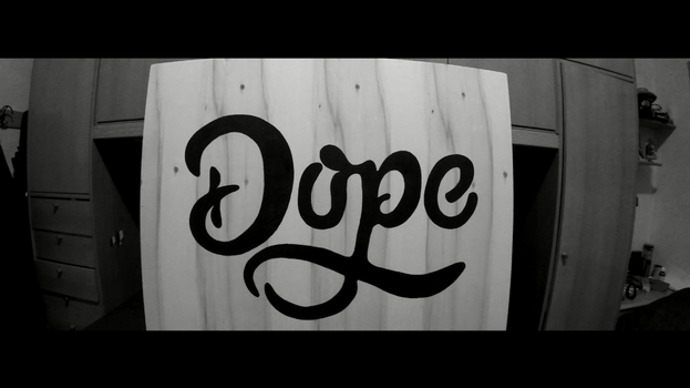 DOPE - Typography by Mackintosh141