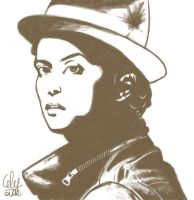 Bruno Mars - Speed paint by Celou