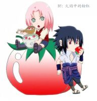 sasusaku179 colored by pinkyflame