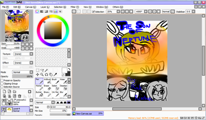 WIP Book Report Front Cover (October) by xItsElectric