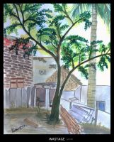 Wastage - Water color painting by thelfs