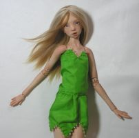 Tinkerbell's dress by MarynaS