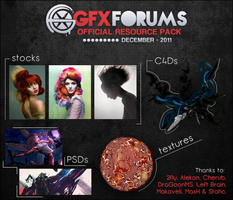 GFX Forums December 2011 Resource Pack by solidusfx