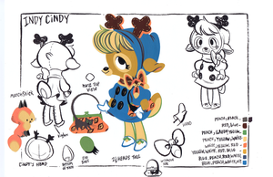 Indy Cindy Turnaround by Pocketowl