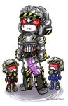 Megatron Origin-Rumble-Frenzy by BloodyChaser