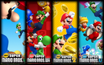 All New Super Mario Bros. Games Wallpaper1440x900 by Baruch97